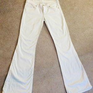 ❤ White London Jeans, Wide Leg, Size 4 ❤